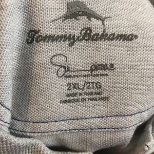 Grey supima Tommy Bahama polo XXL